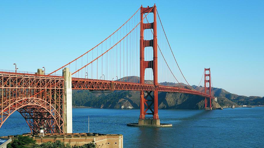 Golden Gate Bridge Photograph by Geri Lavrov