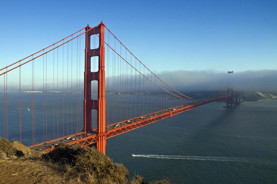 America Photograph - Golden Gate Bridge by Melanie Viola