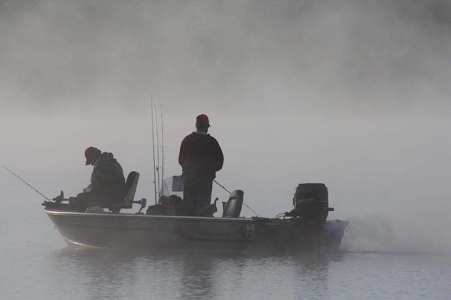 Fishermen Photograph - Gone Fishing by Bruce Bley