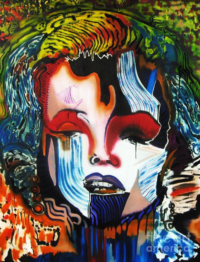 Andy Warhol Painting - Goodbye Andy Warhol by Michael Kulick