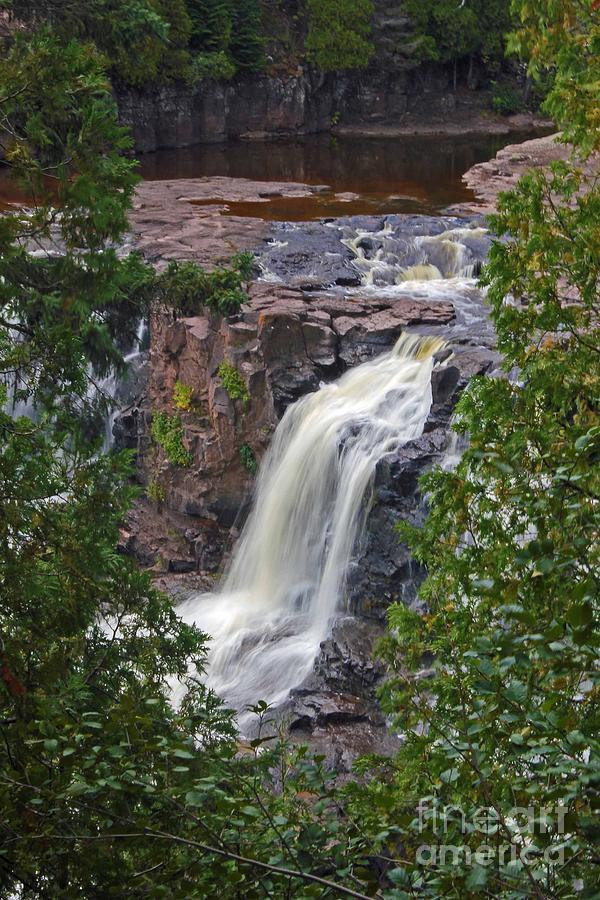Gooseberry Falls Photograph - Gooseberry Falls by Stephanie Hanson