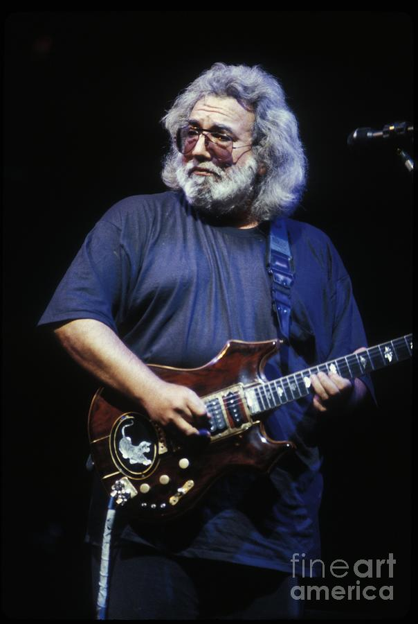 Concert Photograph - Grateful Dead - Jerry Garcia by Concert Photos