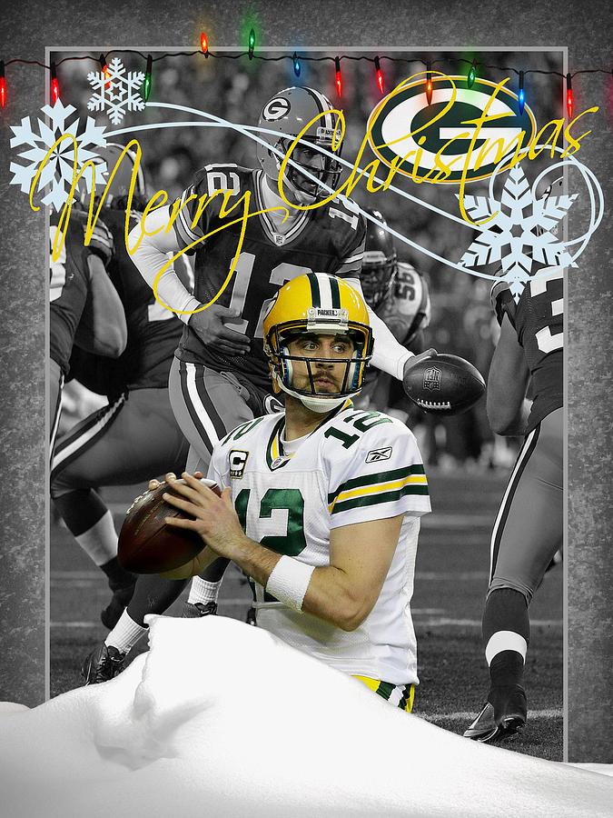 Packers Green Bay Card By Hamilton Christmas Joe