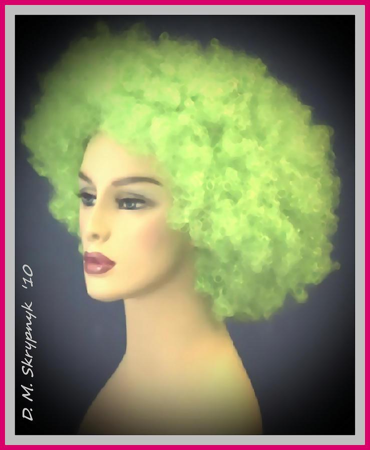 Fine Art For Sale Digital Art - Green Velvet by David Skrypnyk