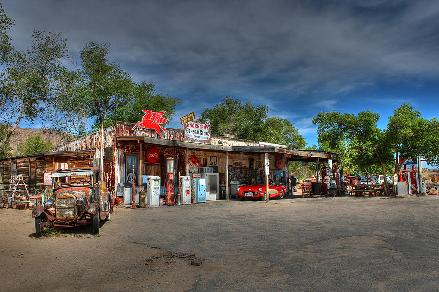 Arizona Photograph - Hackberry General Store On Route 66 by Lynn Jordan