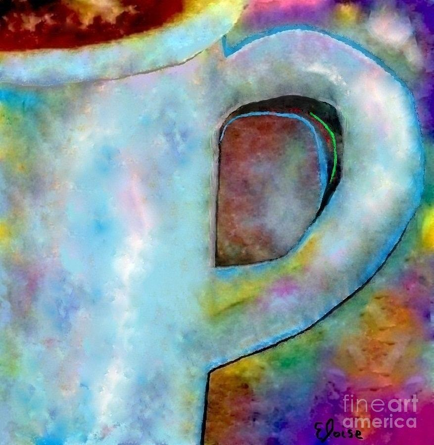 Cup Painting - Half A Cup Please by Eloise Schneider