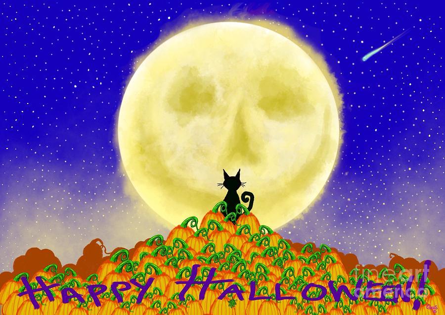 Happy Halloween Painting - Happy Halloween by Nick Gustafson