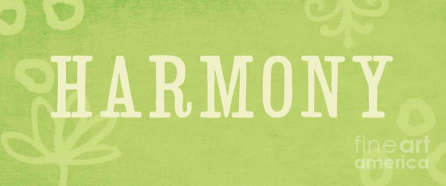 Harmony Painting - Harmony by Linda Woods