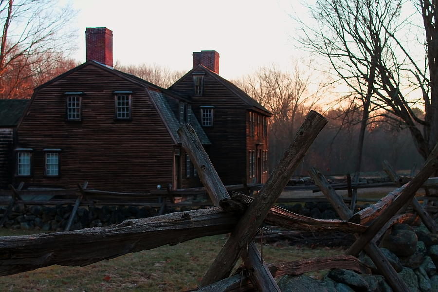 Concord Photograph - Hartwell Tavern  by Jeff Heimlich