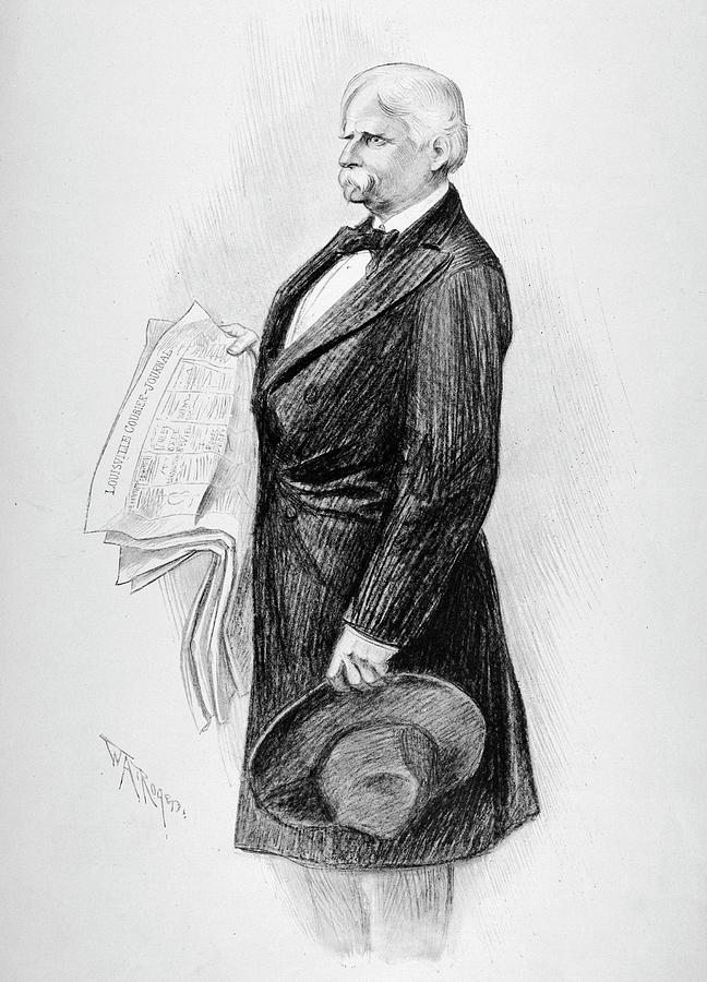 1902 Drawing - Henry Watterson (1840-1921) by Granger