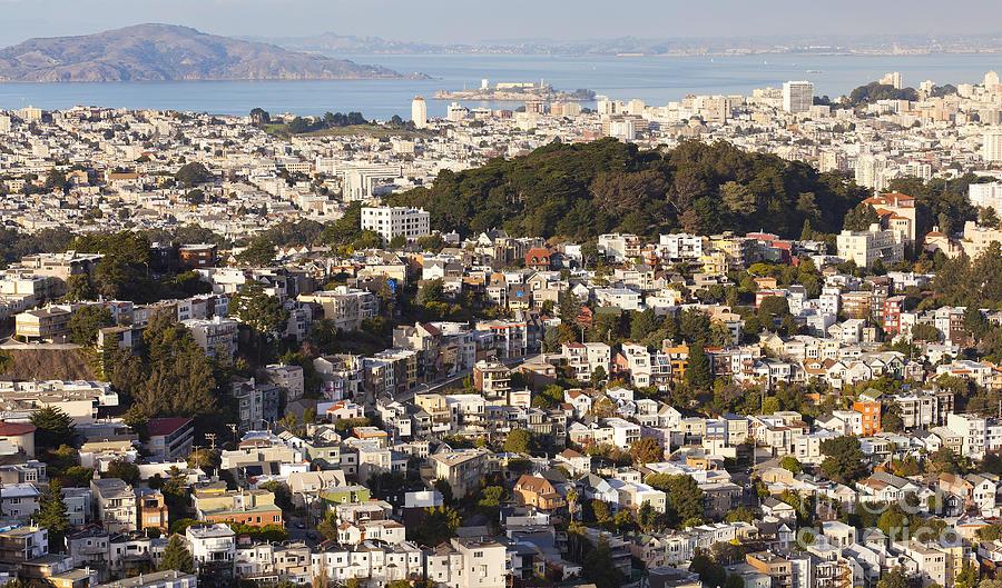 San Francisco Photograph - Homes Of San Francisco by B Christopher