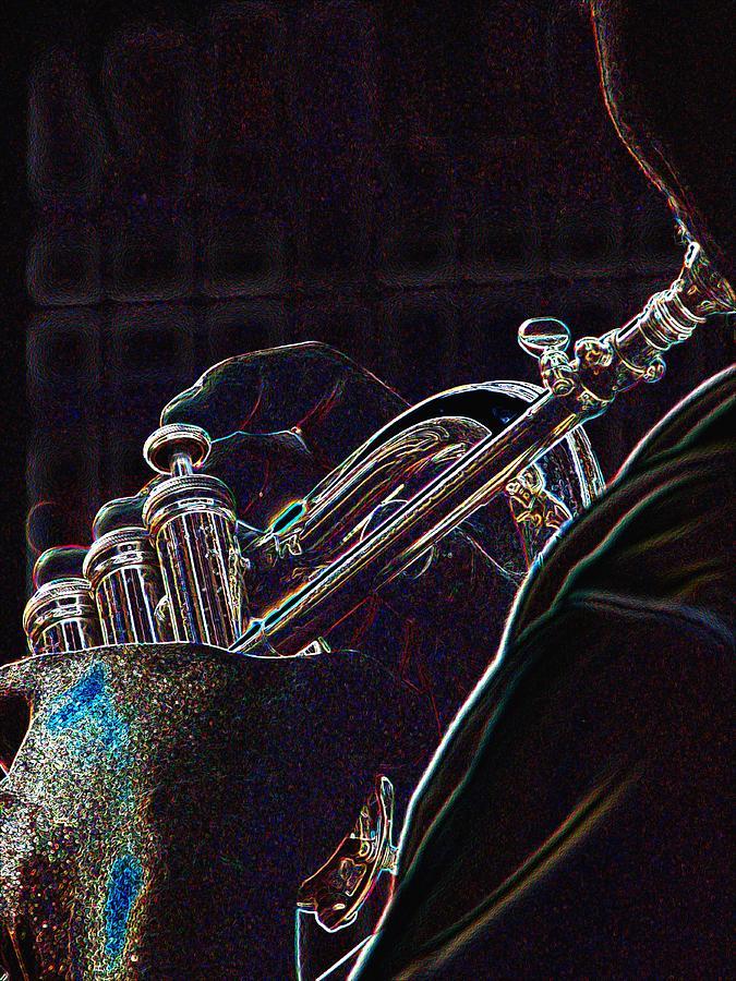 Horn Player 71 Photograph
