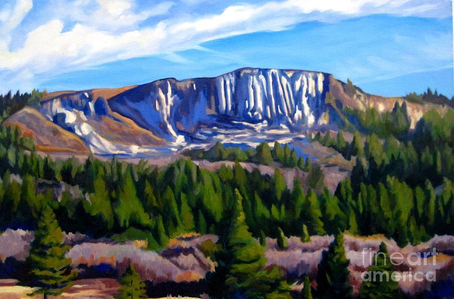 Landscape Painting - Horse Mesa by Katrina West