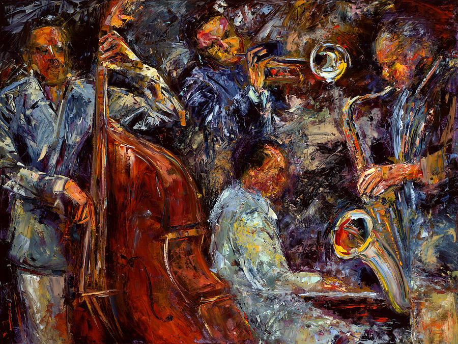 Hot Jazz 3 Painting by...