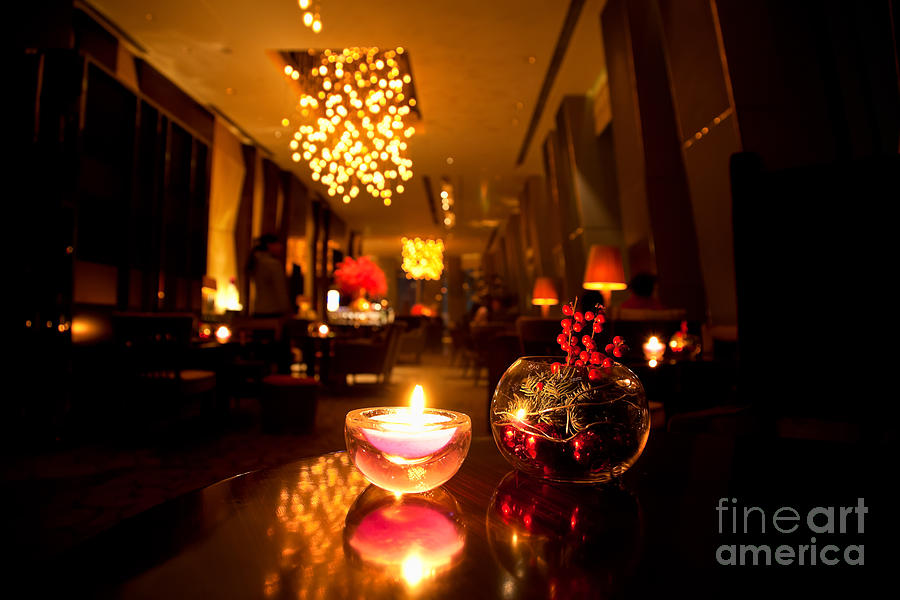 Activity Photograph - Hotel Lounge by Fototrav Print