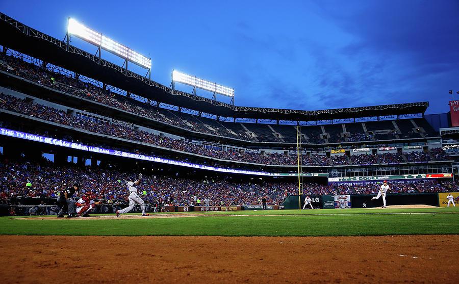 Houston Astros V Texas Rangers 2 Photograph by Tom Pennington