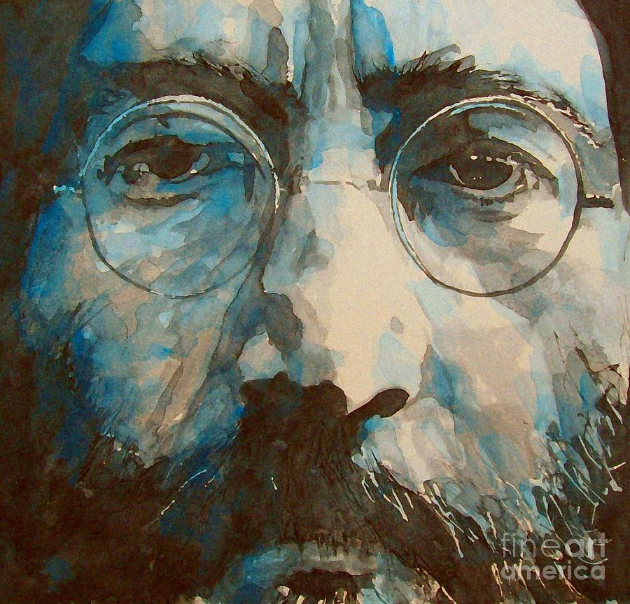 John Lennon  Painting - I Was The Dreamweaver by Paul Lovering