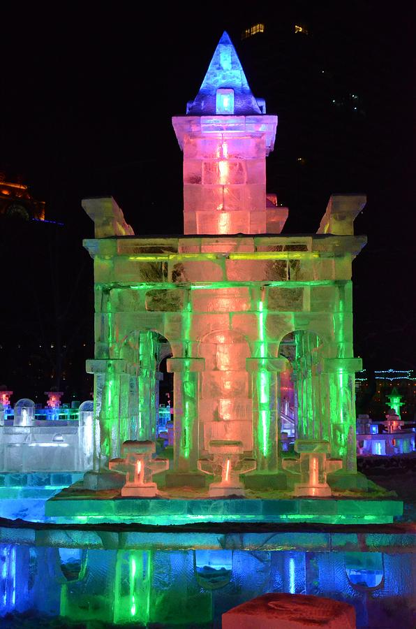 Ice Sculpture Photograph - Ice Sculpture by Brett Geyer