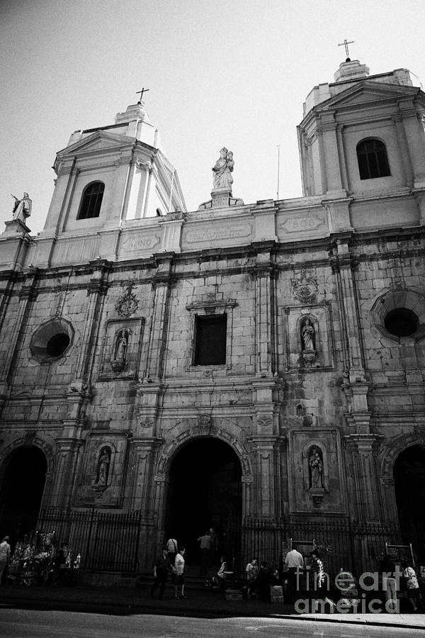 Iglesia Photograph - Iglesia De Santo Domingo Santiago Chile by Joe Fox