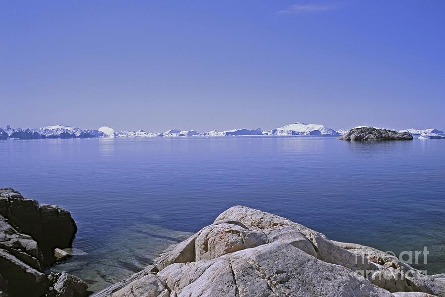Nature Photograph - Ilulissat Icefjord Greenland by Rudi Prott