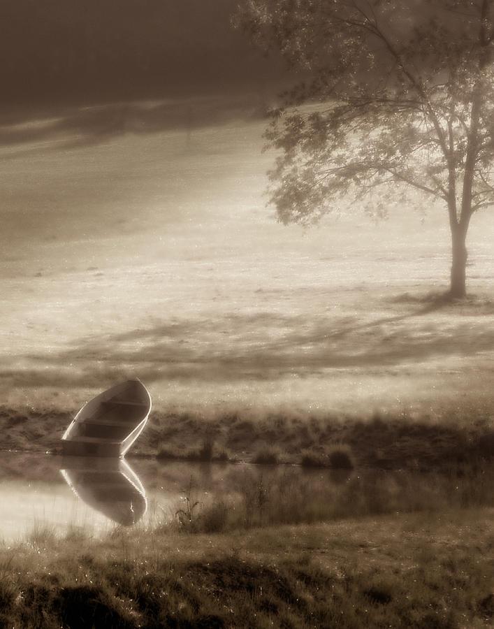 Boat Photograph - In Quiet Solitude by Tom Mc Nemar