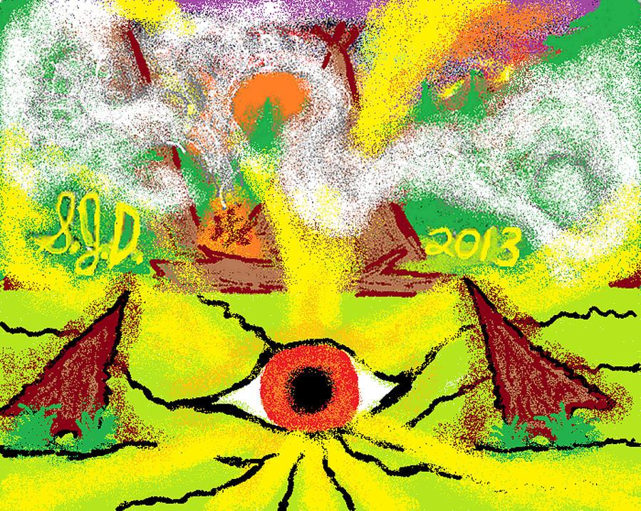 Indian Camp Digital Art by Joe Dillon