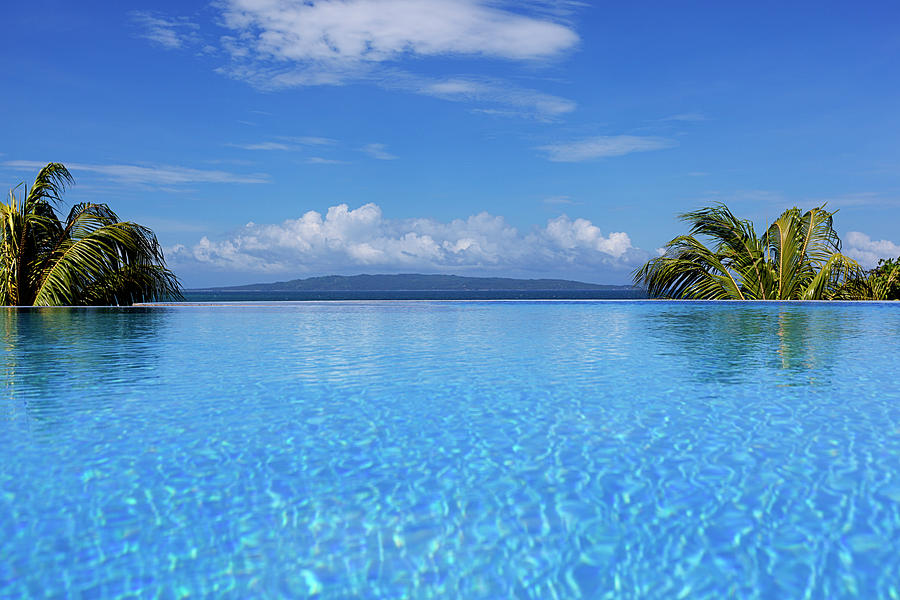 Infinity Swimming Pool Photograph by 35007