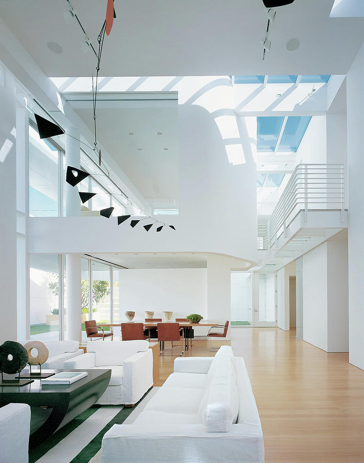 Interior Of Modern Living Room Photograph by Scott Frances