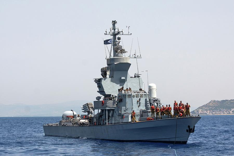 Israeli Navy Missile Boat by Photostock-israel