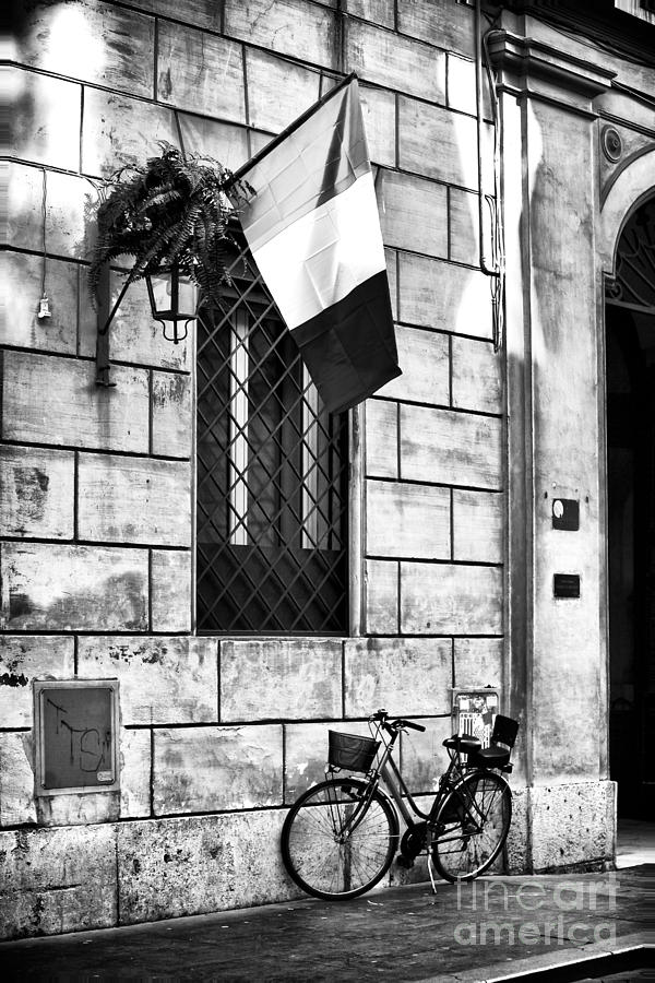 Piazza Photograph - Italy by John Rizzuto