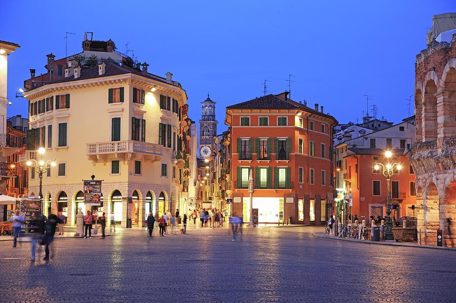 Italy, Verona Photograph by Hiroshi Higuchi