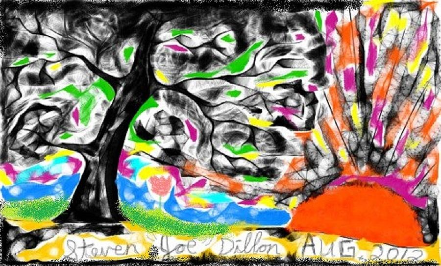 Its Pretty Wicked Digital Art by Joe Dillon
