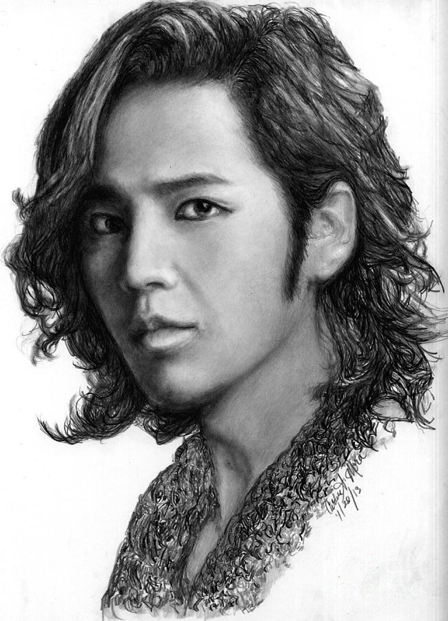 Actor Drawing - Jang Geun Suk by Carliss Mora