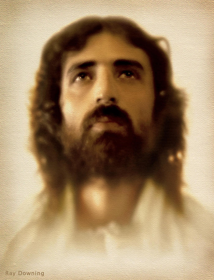 Jesus Digital Art - Jesus In Glory by Ray Downing