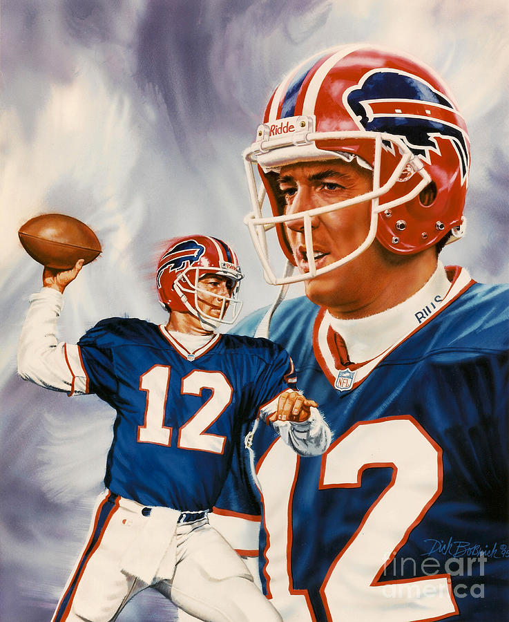 Jim Kelly Painting By Dick Bobnick