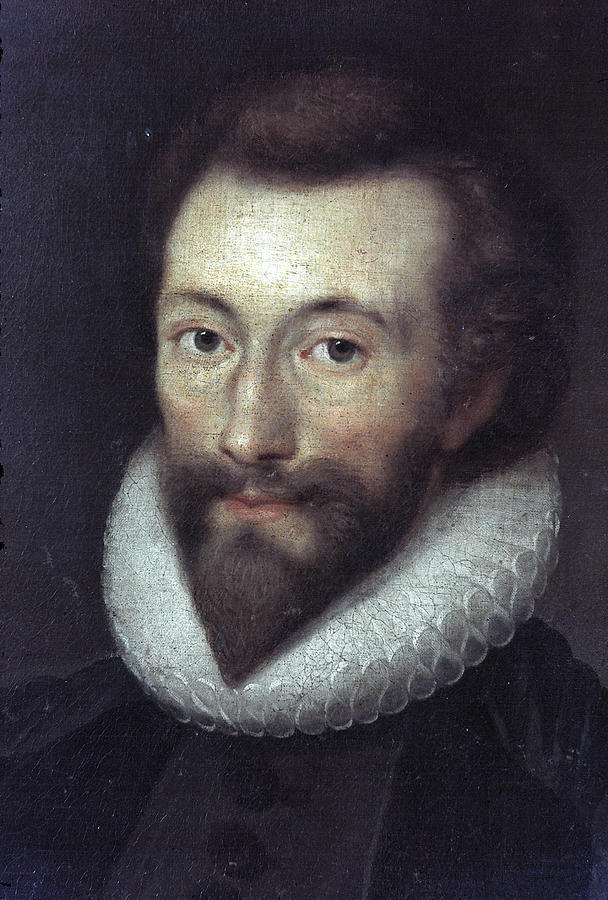 1616 Painting - John Donne (1572-1631) by Granger