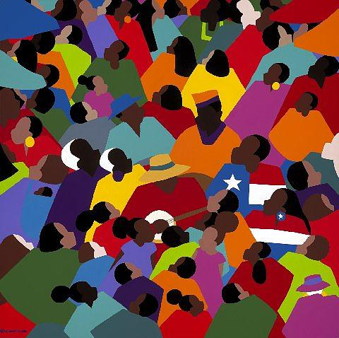 Juneteenth Painting - Juneteenth by Synthia SAINT JAMES