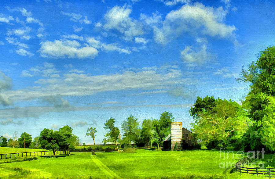 Farm Photograph - Kentucky Countryside by Darren Fisher