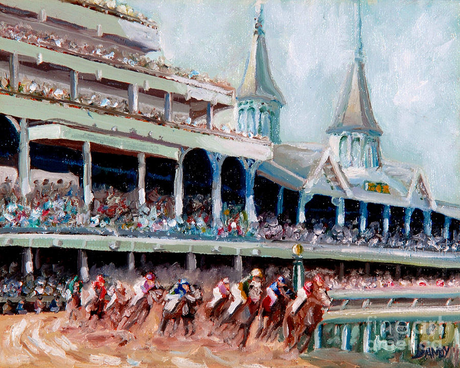 Kentucky Derby Painting - Kentucky Derby by Todd Bandy
