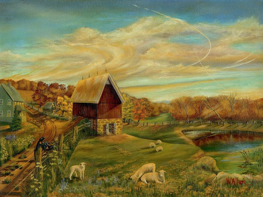 Landscape Painting - Kookaree by William Allen