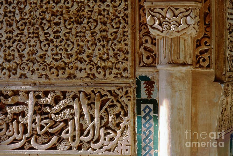 The Alhambra Photograph - La Alhambra Granada by Guido Montanes Castillo