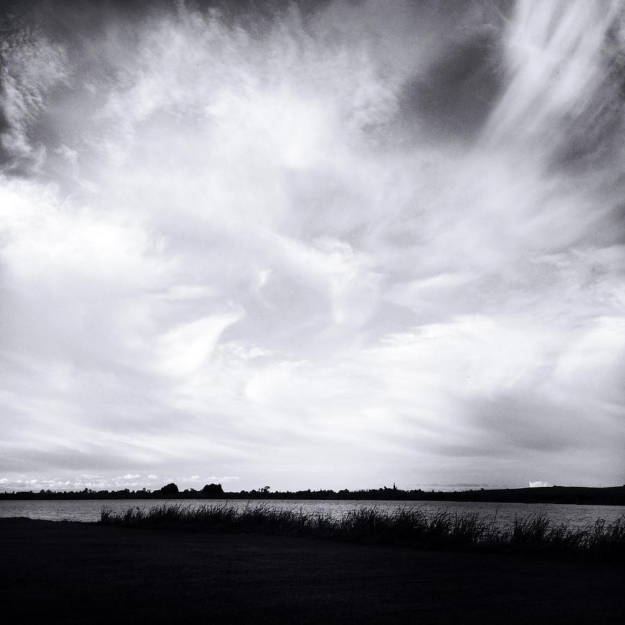 Lake Clouds Photograph