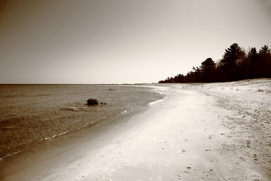 America Photograph - Lake Huron by Frank Romeo
