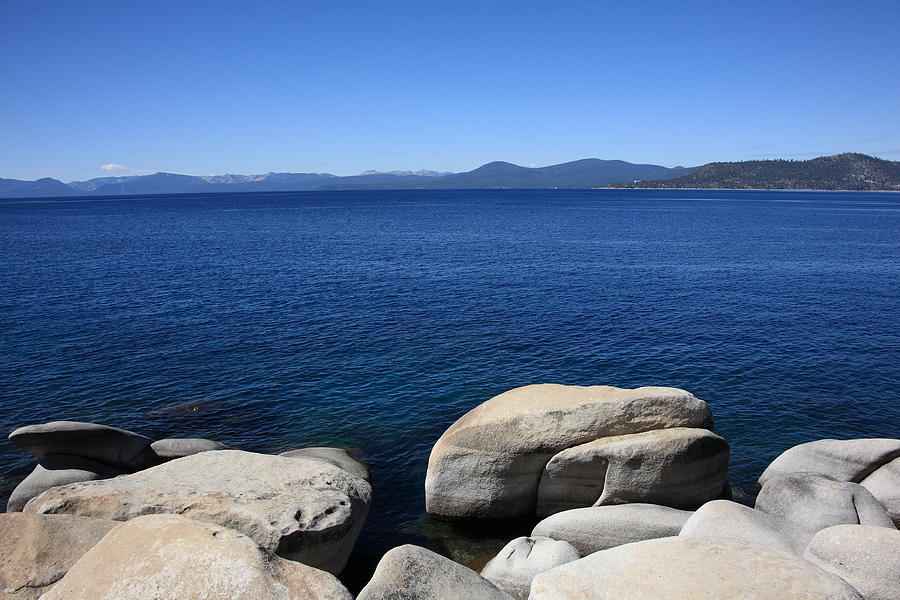 America Photograph - Lake Tahoe by Frank Romeo