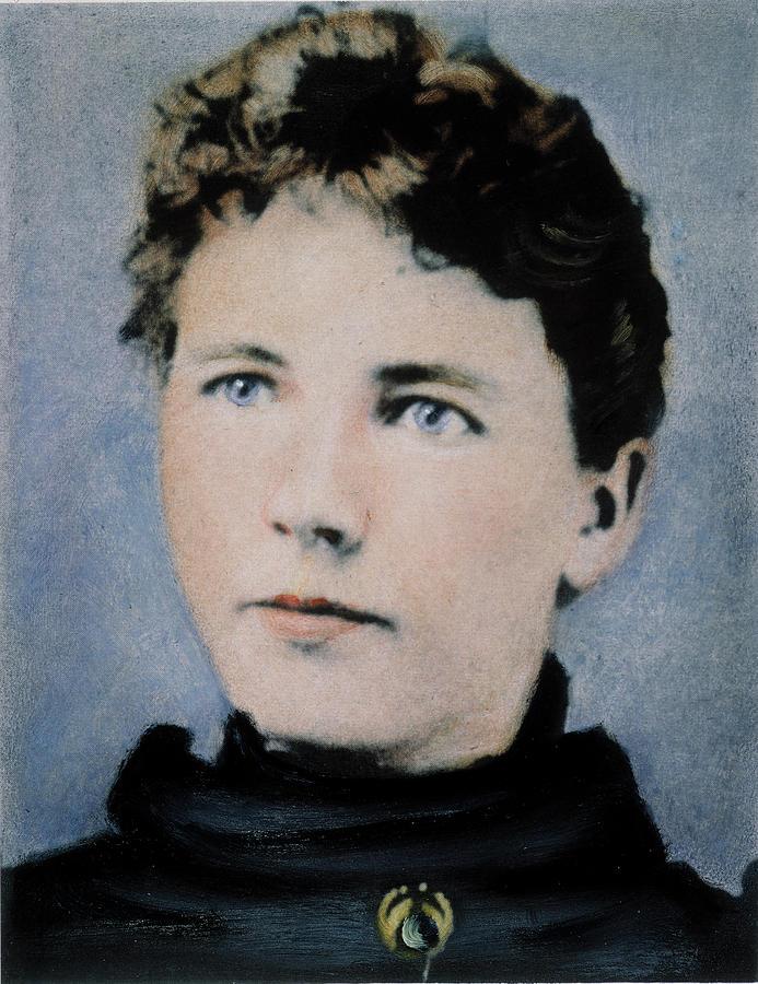 19th Century Photograph - Laura Ingalls Wilder (1867-1957) by Granger