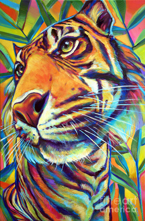Nature Painting - Le Tigre by Robert Phelps