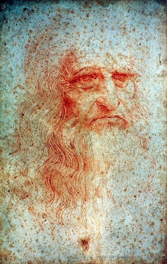 15th Century Drawing - Leonardo Da Vinci (1452-1519) by Granger