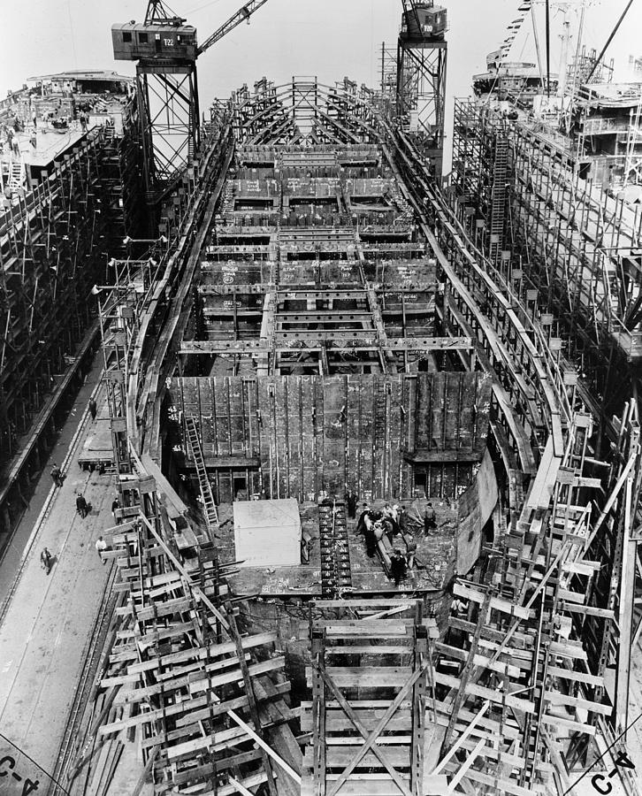 1943 Photograph - Liberty Ship, 1943 by Granger