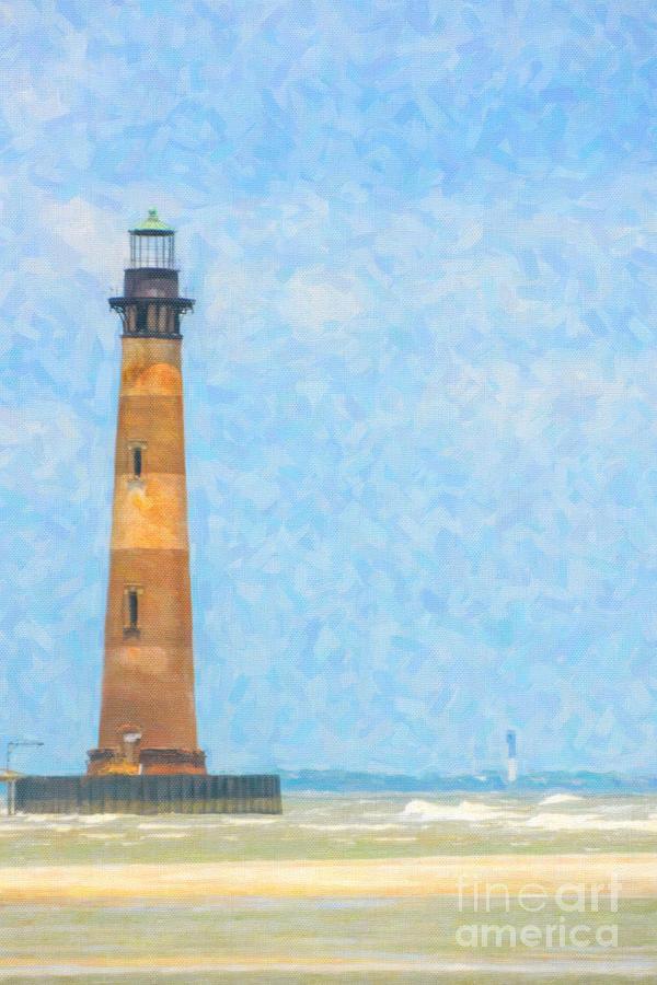 Lighthouse Art Digital Art