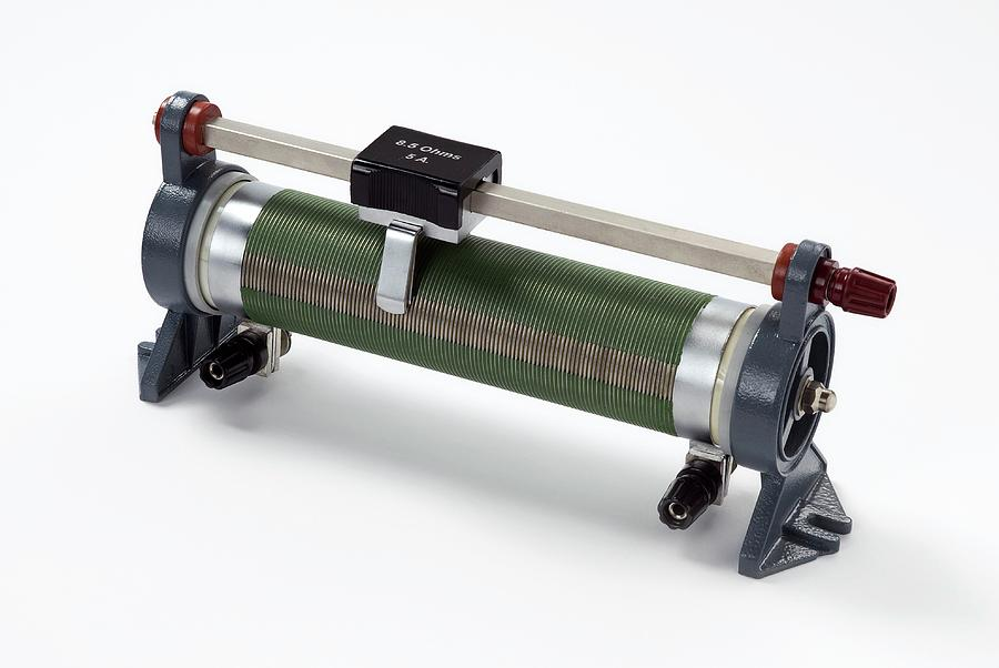 Nobody Photograph - Linear Potentiometer by Trevor Clifford Photography